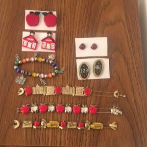 Bundle of teaching jewelry.